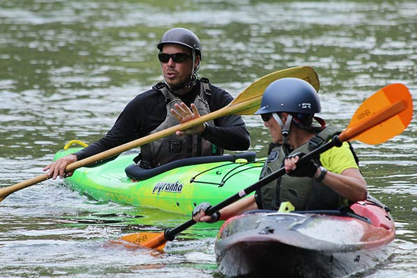 White Water Kayak Instruction - Beginner