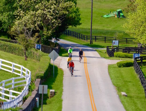 Kentucky road biking tour