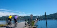 Cycling the Coeur d'Alene