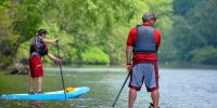 Ohiopyle SUP instruction