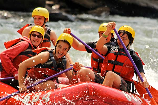 Ohiopyle Boys Scouts Rafting