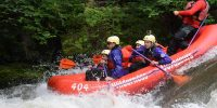 Savage River dam rafting
