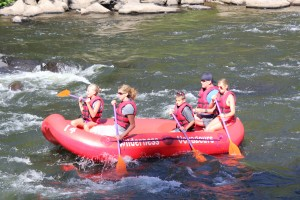 Middle Yough Family Rafting Ohiopyle