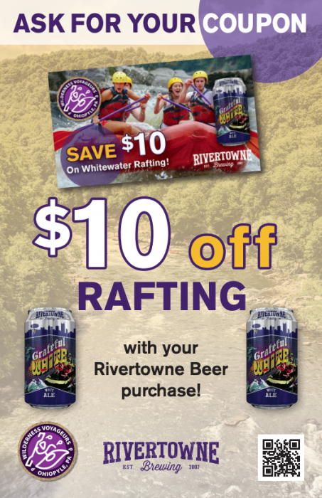 rivertowne beer coupon flyer