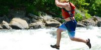 Jumping in! whitewater merit badge