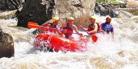 Upper Yough Rafting Triple drop