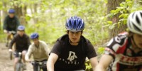 boy scout mountain bike instruction