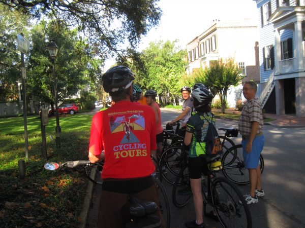 Cycling Historic Savannah on Georgia Coast Bike Tour with Wilderness Voyageurs